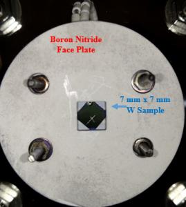 Ion Exposure Faceplate